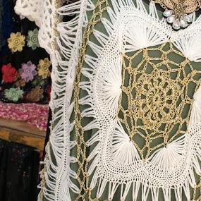 Intricate crochet by Gwyn Goodrow - Artistic Objects Clothing & Accessories ( fashion, clothing, dress, crochet, artistic, stitch, handmade, culture )