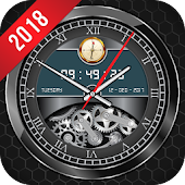 Luxury Watch Analog Clock Live Wallpaper Free 2018
