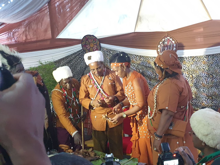 Governor Kimemia holds traditional wedding in Nyeri