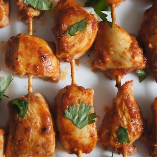 Chipotle Chicken Skewers