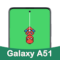 Punch Hole Wallpapers For Galaxy A51 icon