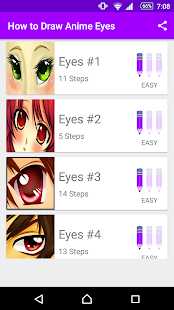 Learn How to Draw Anime Eyes - náhled