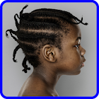 Kids African Hairstyles icon