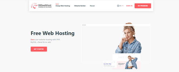 Top 10 Free web hosting providers