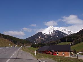 Photo: ein echter Schneeberg
