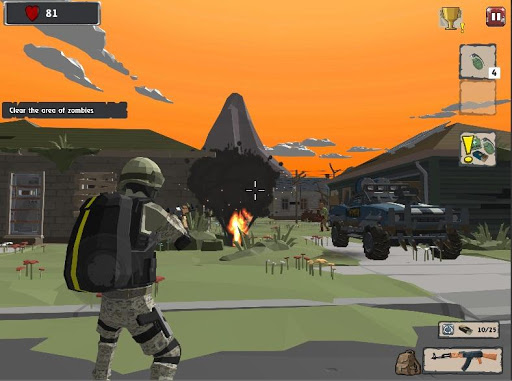 Zombie Hunter Shooter Survival android2mod screenshots 6