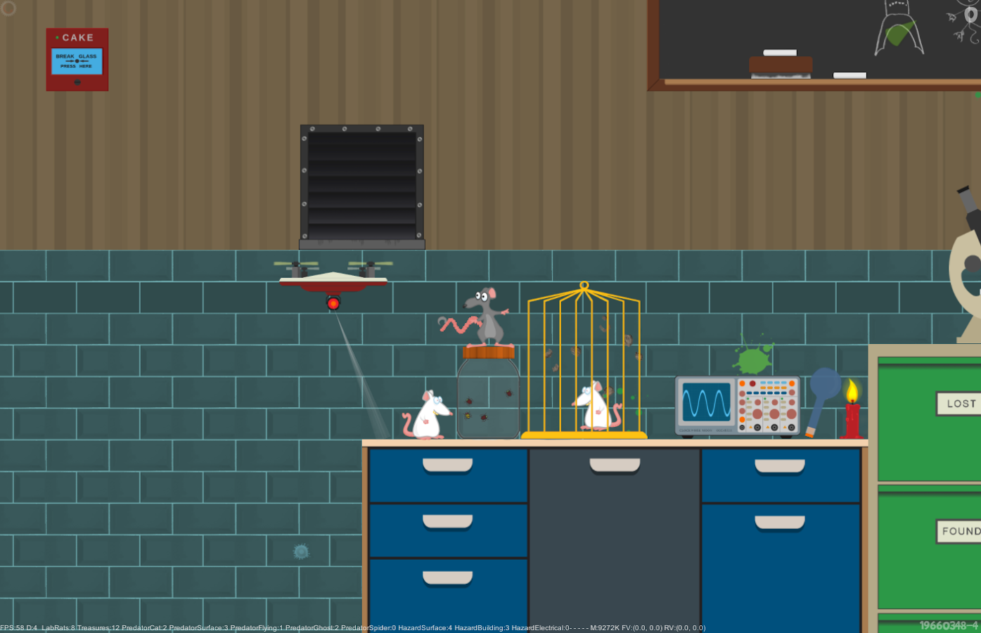 Scatty Rat- screenshot