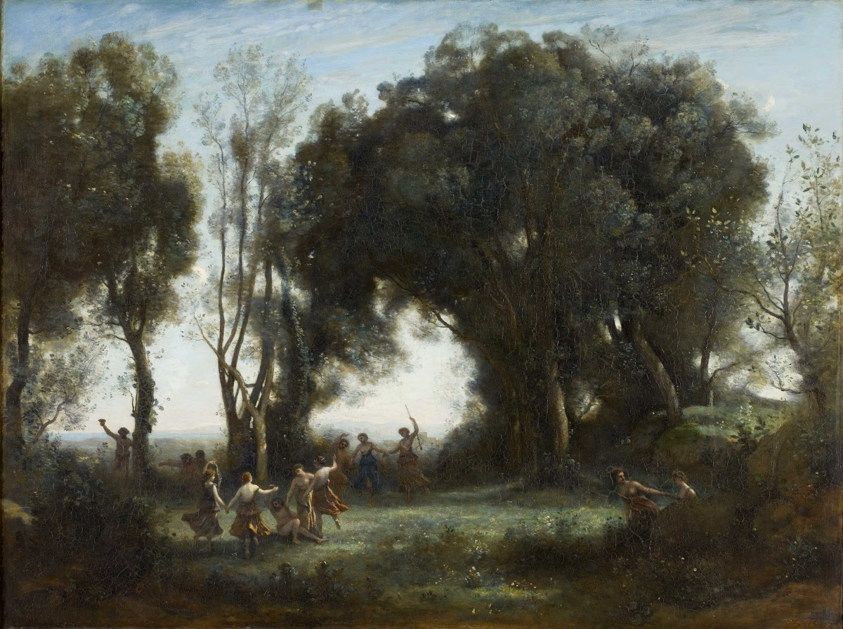 A Morning. The Dance of the Nymphs - Camille Corot — Google Arts & Culture