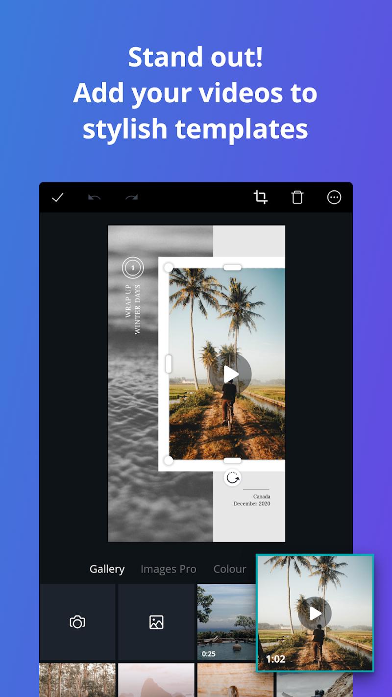 Canva: Graphic Design, Video, Collage & Logo Maker Screenshot 2