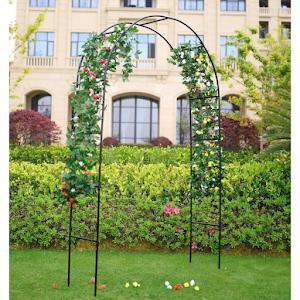 Arcada metalica de gradina pentru flori cataratoare, 240 x 38 x 140 cm