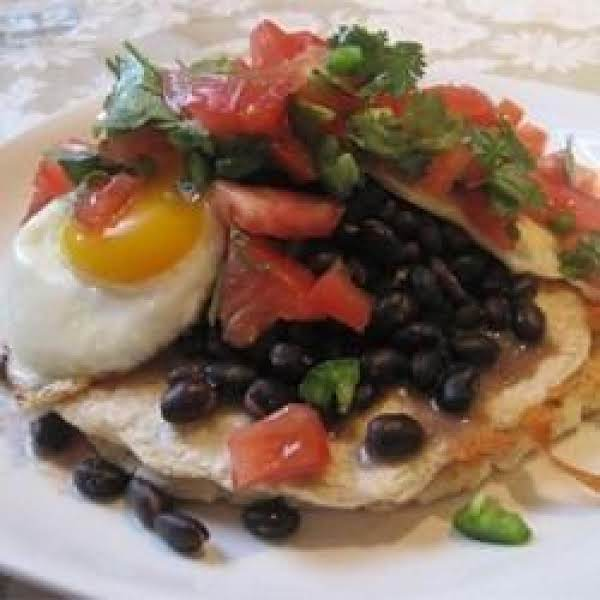 Internet Picture. Our Huevos Look Slightly Different As We Poach The Eggs.