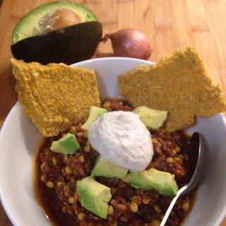 Raw Hearty Chili