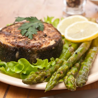Grilled Marinated Halibut on George Foreman Grill Recipe