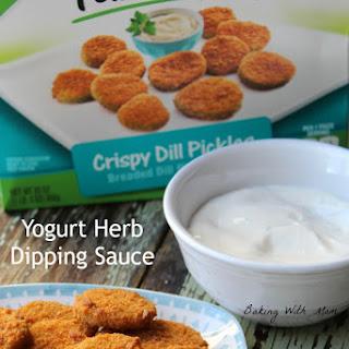 Yogurt Herb Dipping Sauce