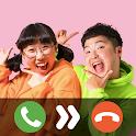 흔한남매  Fake Video Call & Game icon