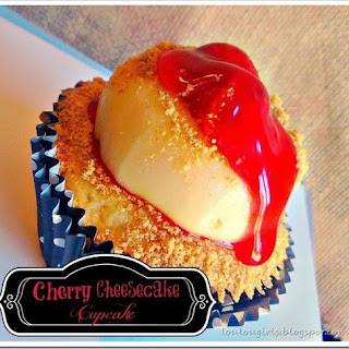 Cherry Cheesecake Cupcake.