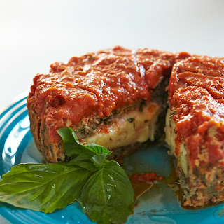 Beef and Mushroom Meatloaf.