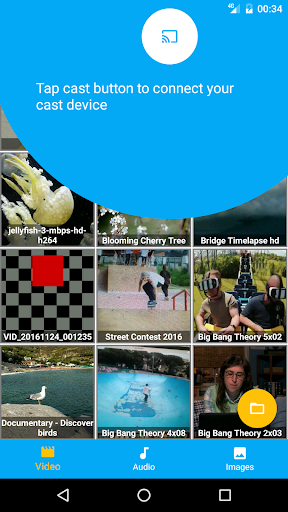 MediaCast - Chromecast Player 1.6.1 screenshots 2
