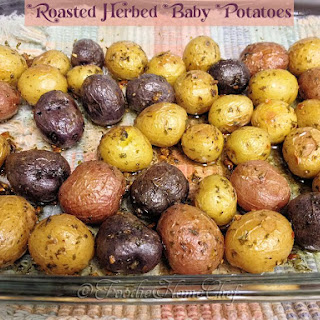 Roasted Herbed Baby Potatoes Recipe