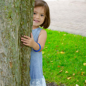 Peek-A-Boo Charlie by Lynn Kirchhoff - Babies & Children Toddlers ( playing, playground, children, girl toddler, toddler,  )