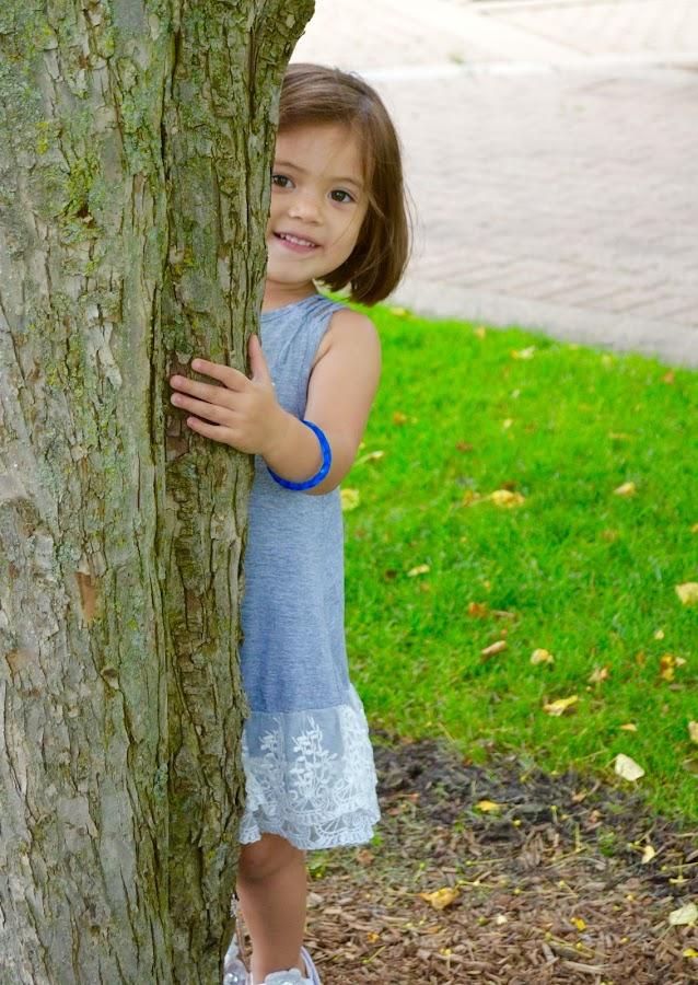 Peek-A-Boo Charlie by Lynn Kirchhoff - Babies & Children Toddlers ( playing, playground, children, girl toddler, toddler,  )