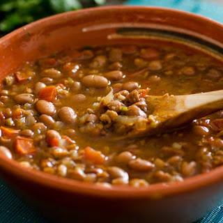 Vegan Frijoles Charros Recipe (Mexican Cowboy Beans)