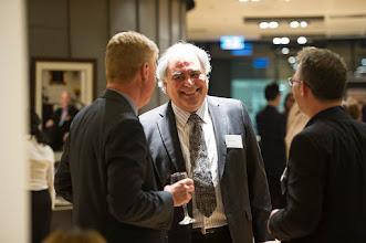 Photo: Prof Steve Jane speaking with Mr Frank Di Giantomasso (Patent Law attorney who lectures into Translational Research core unit ) and Dr Steven Petratos. http://www.med.monash.edu.au/cecs/events/2015-tr-symposium.html