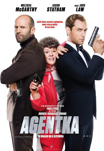 Polski plakat filmu 'Agentka'