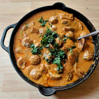 Coconut Meatball Curry.