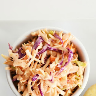 Sriracha Cole Slaw & Some Meatless Lunch Ideas.