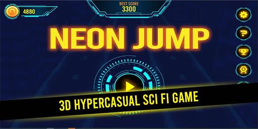 Neon Jump 1.2.2 screenshots 1