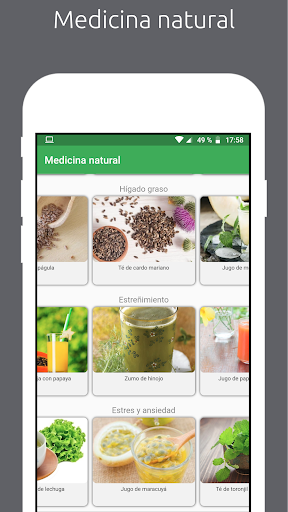 Natural : Medicina natural y recetas caseras screenshot 3