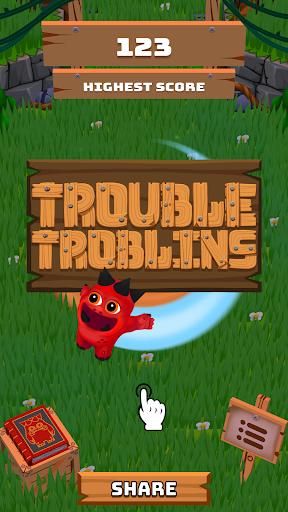 Télécharger Trouble Troblins APK MOD 1