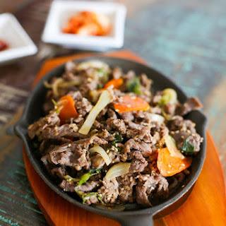 Bulgogi - Korean BBQ Beef.