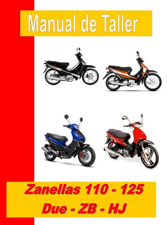 zanella manual-taller-servicio-despiece
