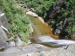Photo: 第一個攔砂壩...