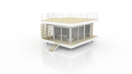 O30 avec terrasse haute