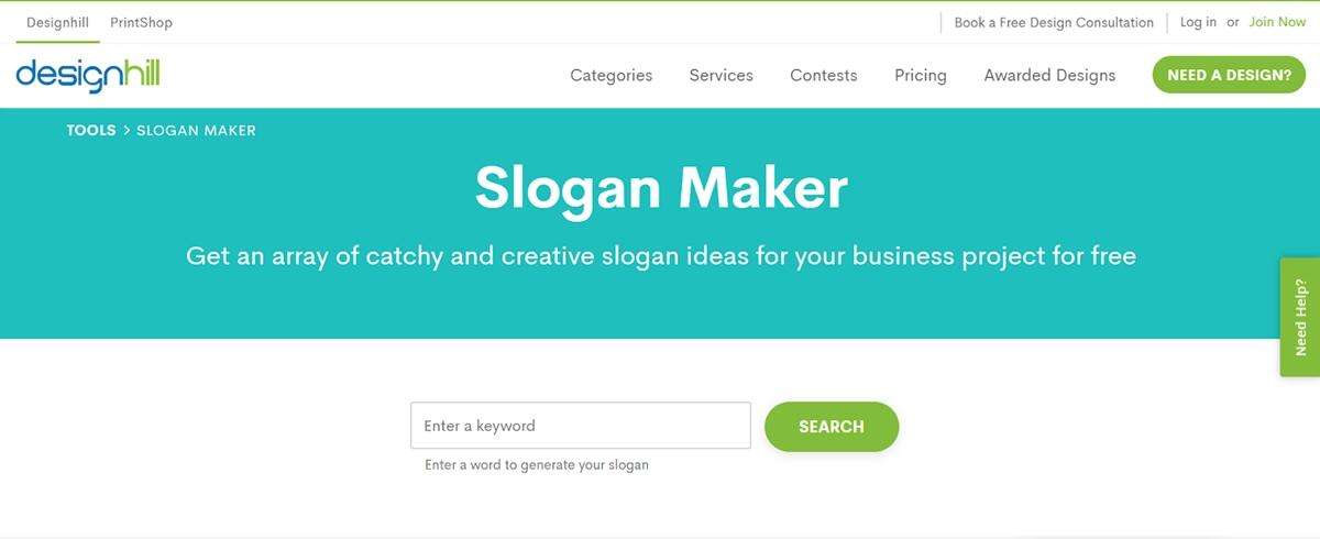 Slogan maker app for shopify