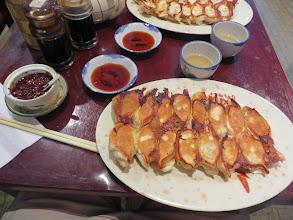 Photo: Dumplings, stuffed with pork & shripm, in Chinatown