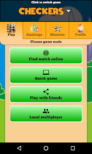 Checkers Online – Duel friends online! Apk  Download For Android 3
