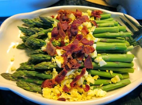 Bacon Egg And Blue Cheese Asparagus Recipe