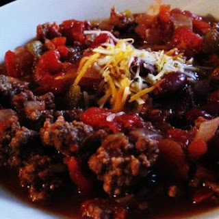 Wally's Beef Chili.