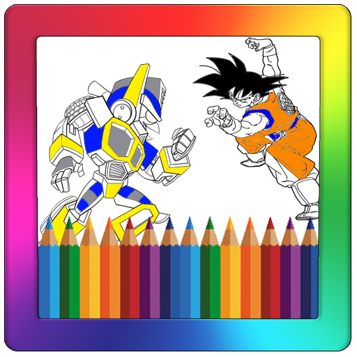 Super Heroes Coloring Game