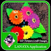 DIY Flowers Craft Design Ideas