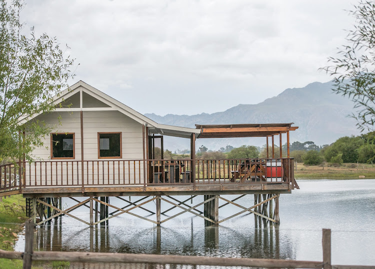 At Excelsior Estate, you can sit on the wide veranda and soak up the mountain views.