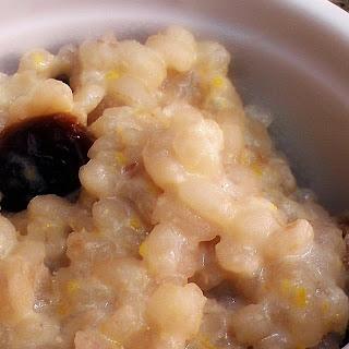 Creamy Barley Pudding