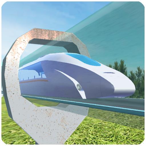 Hyperloop: futuristic train simulator