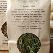 Cedar Tea,  loose leaf