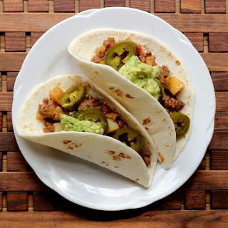 Picadillo Tacos.