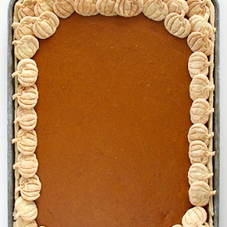 Pumpkin Slab Pie